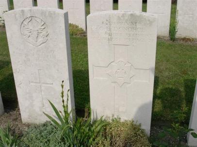 George Donohoe headstone (1917)