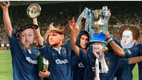 English Monarchs FA Cup Pic