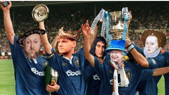 English Monarchs FA Cup Pic