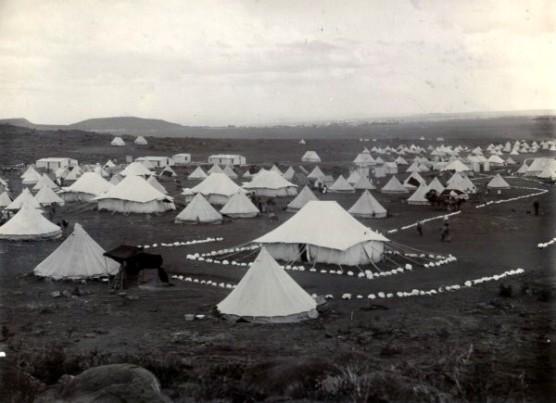 boer war - camps
